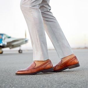 Rockport DresSports brown loafers